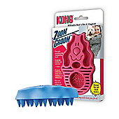Kong Zoom Groom Dog Brush - Soft Bristle (Pink)