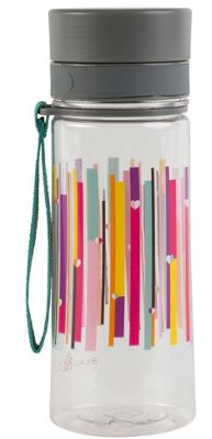 Beau & Elliot Linear Stripe Drinks Bottle, 500ml