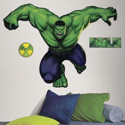 Marvel The Hulk Giant Wall Sticker