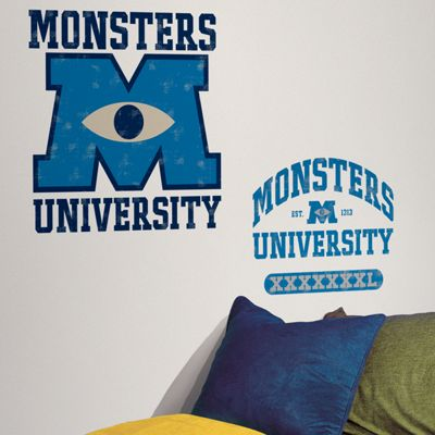 Disney Monsters University Giant Wall Stickers