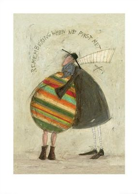 Sam Toft Remembering When We First Met Print