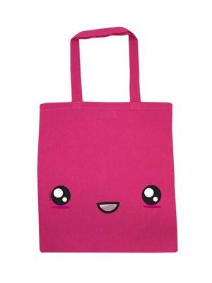 Super Kawaii Hot Pink Tote Bag
