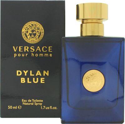 Versace Pour Homme Dylan Blue Eau de Toilette (EDT) 50ml Spray For Men