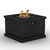 Foremost Outdoor Gas Square Fire Pit Table