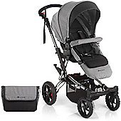 Jane Crosswalk Pushchair (Soil/Chrome)