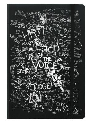 Stop The Voices A5 Notebook