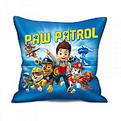 Paw Patrol Blue Cushion (34cm x 34cm)