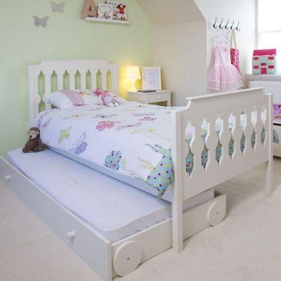 Sugar & Spice Single Bed - White