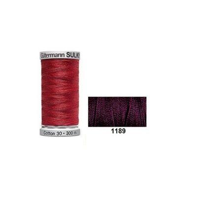 Gutermann Sulky Cotton 300m Dark Chestnut
