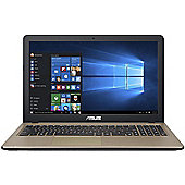 "ASUS X540 15.6"" Intel Core i7 8GB RAM 1000GB Windows 10 Clamshell Laptops Brown"