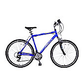 "Ammaco CS150 700c Front Suspension Hybrid Bike 16"" Frame Blue"
