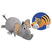 Flip a Zoo Elephant/Tiger