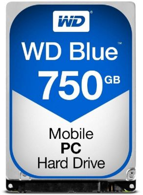 WD 750GB Blue 7.0mm 2.5IN SATA 6 Gb/s Hard Drive