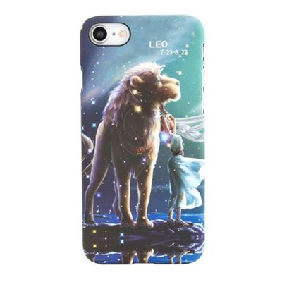 iPhone 7 Leo Star Sign Glow In the Dark Slim Protective Phone Case - Multi