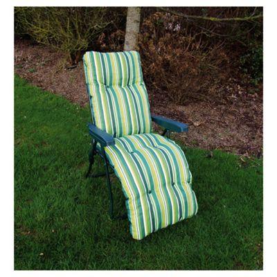 Culcita Padded Reclining Chair, Green