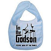 Dirty Fingers I'm the Godson future head of the family Bib Blue