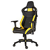 Corsair T1 RACE 2018 Gaming Chair - Black / Yellow