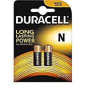 2 x Duracell MN9100 1.5V Alkaline Battery LR1 E90 KN