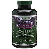 Natures Aid Organic Acai Berry Powder - 120g