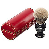 Kent Large Sized Silvertip Shaving Brush - BLK8 Black