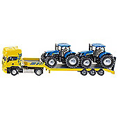 Truck With Tractors - Scale 1:50 - Siku