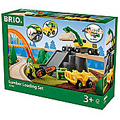BRIO 33789 Lumber Loading set for Wooden Train Set