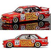 SCALEXTRIC Slot Car C3739 BMW E30 M3 - BTCC 1988, Brands Hatch