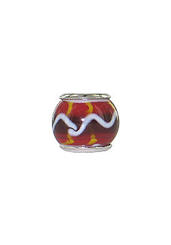 Chrysalis Saffron Glass Slide On Bead