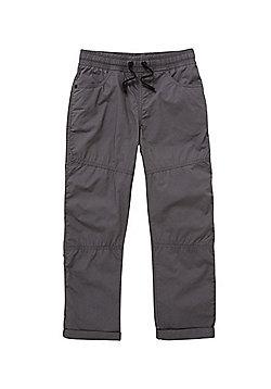 F&F Poplin Trousers - Grey