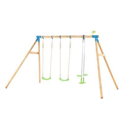 TP Woburn Wooden Triple Swing Set