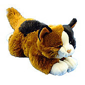 Dowman Floppy Tortoiseshell Cat 38cm Plush Soft Toy