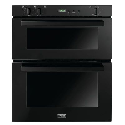 Stoves SEB700FPS Double Electric Oven Black
