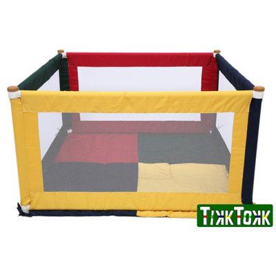 Tikk Tokk Pokano Fabric Playpen Square - Colourful