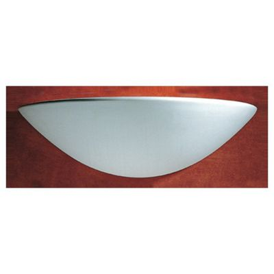 Dar lighting radius wall light in unglazed ceramic