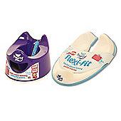 Pourty Bundle Purple Potty & Flexi Fit Toilet Trainer