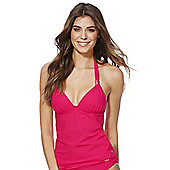 F&F Luxury Halterneck Tankini Top - Red