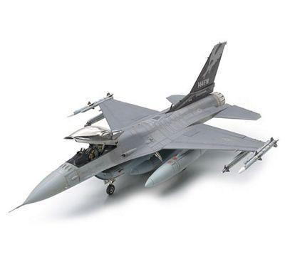 Lockheed Martin F16C (Block 25/32) Fighting Falcon ANG - 1:48 Scale Aircraft - Tamiya