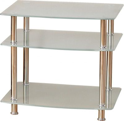 Home Essence Hattie TV Stand - Frosted Glass