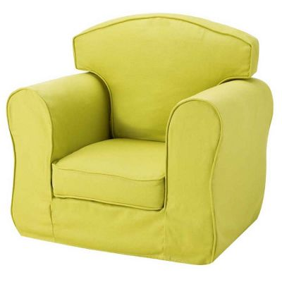 Children's Single Sofa Chair - Green
