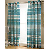 Multi Blue Stripe Curtains 72s