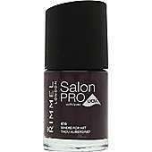 Rimmel Salon Pro Nail Polish 12ml - 061 Wherefore Art Thou Aubergine