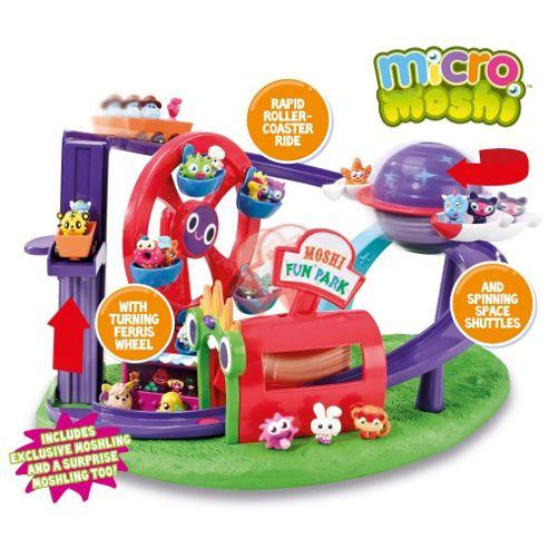 Micro Moshi Monster Theme Park Playset