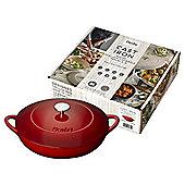 Denby Red Shallow 30cm Casserole Dish
