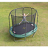 JumpKing 7ft x 10ft Premium Trampoline & Enclosure