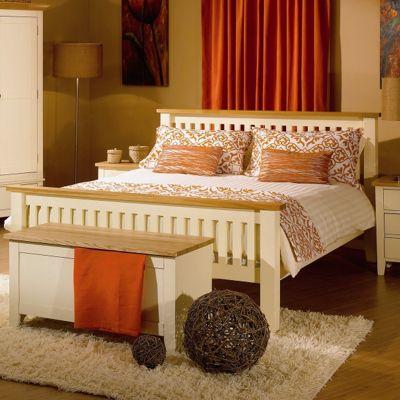 Kelburn Furniture Fanshawe Painted Bed Frame - Double