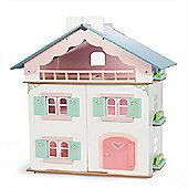 Le Toy Van Traditional Wooden Dolls House - La Maison De Juliette