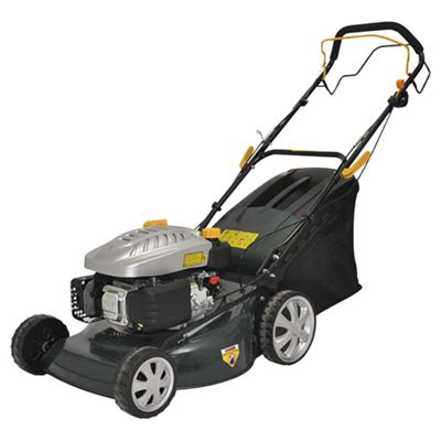 NEW BOXED 173cc Self-propelled Petrol Rotary Lawn Mower ...