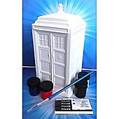 Dr Who - Paint Your Own Tardis Money Bank