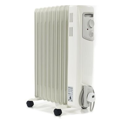 Dimplex OFC2000 Electric Oil Filled Column Radiator, 2000W - White