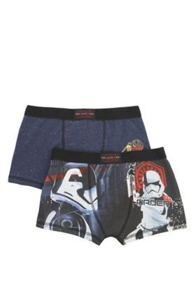 Star Wars 2 Pack of The Last Jedi Trunks Multi 5-6 years